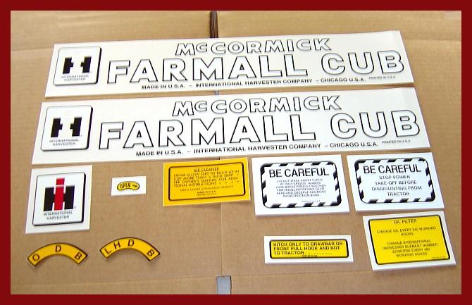 FARMALL CUB CHASSIS