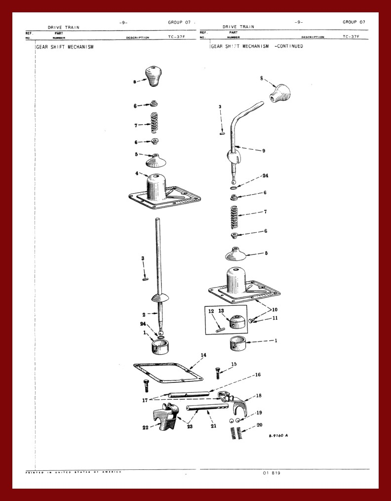 GEARSHIFTERDIA farmall cub chassis 1953 farmall cub wiring diagram at bayanpartner.co