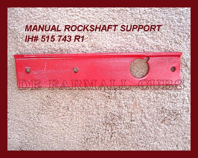 Farmall Cub Drawbar    Fasthitch    Manual Lift