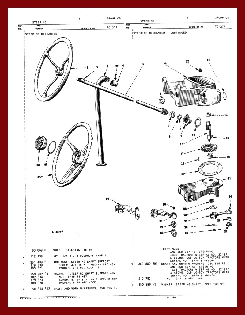 Farmall Cub Steering Front Axle Schematic To Order Write Down The Number Below Picture Of Items You Want Fill Out Our Form Then Click Submit Purchases Are Filled In Same