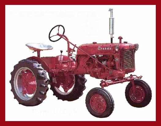 DE FARMALL CUB - New and Used tractor parts  Farmall Cub and